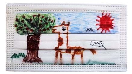 朋来-舒风儿童口罩绘画大赛在京举办