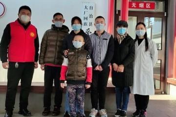 童康中心赵丽萍到大厂看望孤残儿童